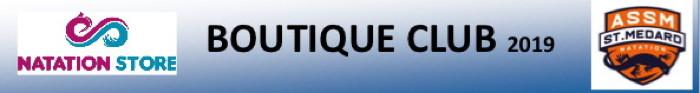 OUVERTURE DE LA BOUTIQUE DU CLUB !!